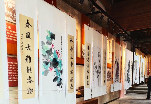 邵斌老师的参展花鸟画作品